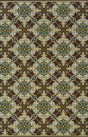 Traditional Rugs Caspian Brown 11753