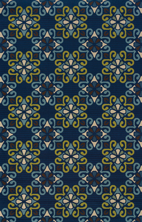 Traditional Rugs Caspian Blue 11754