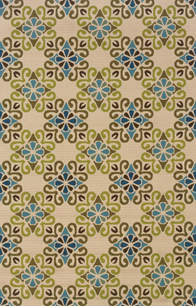 Traditional Rugs Caspian Ivory 11755