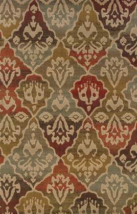 Transitional Rugs Casablanca Multicolor 11760