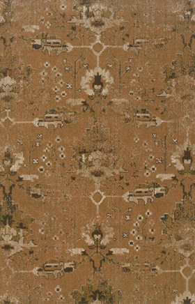 Transitional Rugs Chloe Orange 11769
