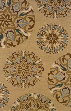 Transitional Rugs Eden Cream 11777