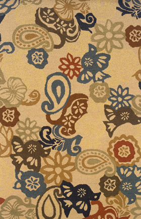 Transitional Rugs Eden Beige 11779
