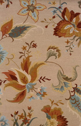 Transitional Rugs Eden Beige 11782