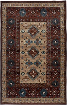 Southwestern Rugs Bellevue Red 11923
