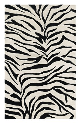 Animal Print Rugs Craft Black 11944