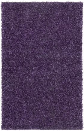 Shag Rugs Kempton Purple 12196