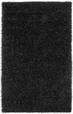 Shag Rugs Kempton Black 12199