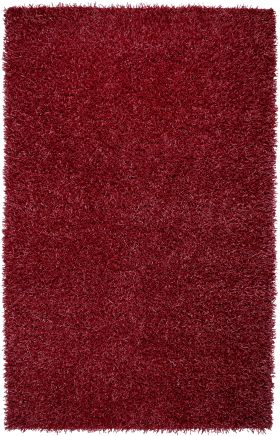 Shag Rugs Kempton Red 12201