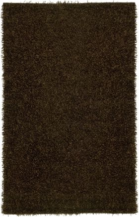 Shag Rugs Kempton Brown 12205