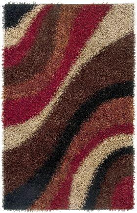 Shag Rugs Kempton Multicolor 12210