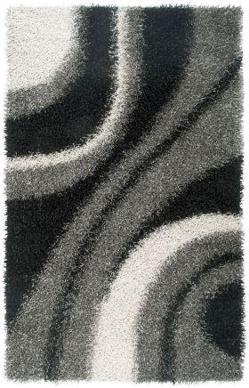 Shag Rugs Kempton Grey 12211