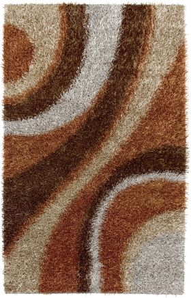 Shag Rugs Kempton Brown 12213