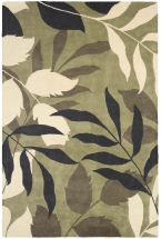 Eco Friendly Rugs Pandora Green 12282