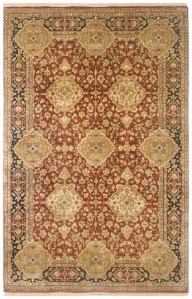 Traditional Rugs Puria Burgundy  12316