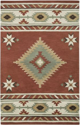 Southwestern Rugs Southwest Red 12402