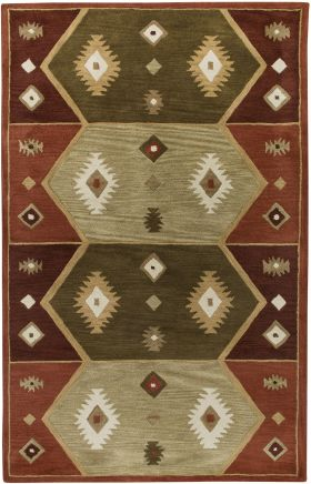 Southwestern Rugs Southwest Red 12403