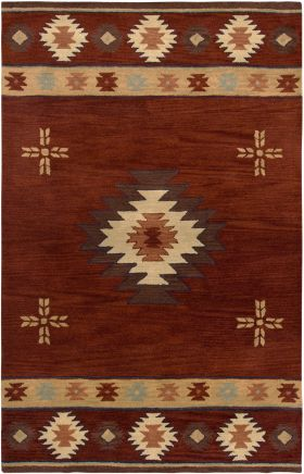 Southwestern Rugs Southwest Red 12406