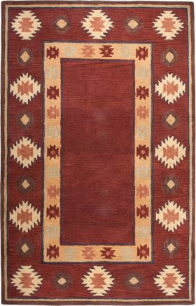 Southwestern Rugs Southwest Red 12408