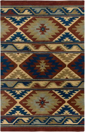 Southwestern Rugs Southwest Red 12410