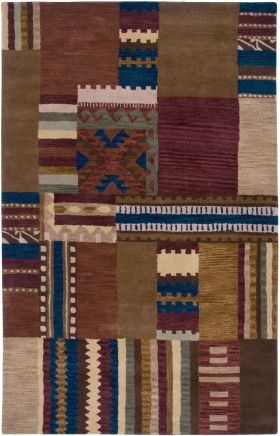 Southwestern Rugs Southwest Red 12411