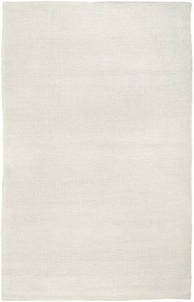 Solid Rugs Twist White 12454