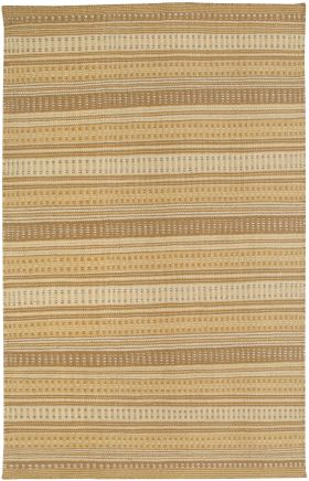 Transitional Rugs Twist Gold 12459