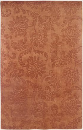 Solid Rugs Uptown Orange 12461