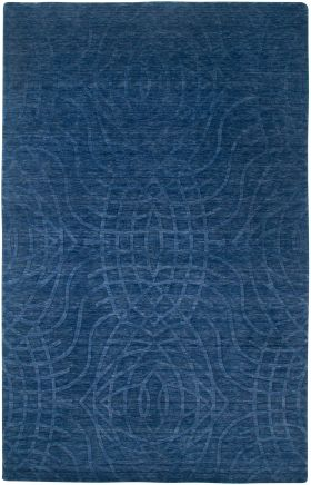 Solid Rugs Uptown Blue 12466