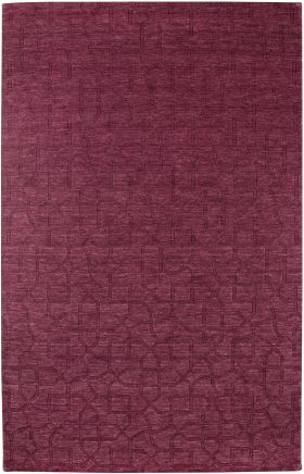 Solid Rugs Uptown Red 12467