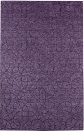 Solid Rugs Uptown Purple 12468