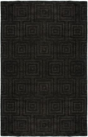 Solid Rugs Uptown Black 12471