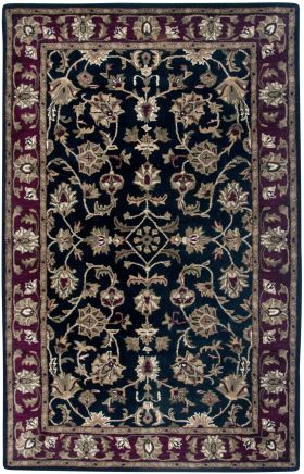 Traditional Rugs Volare Black 12474