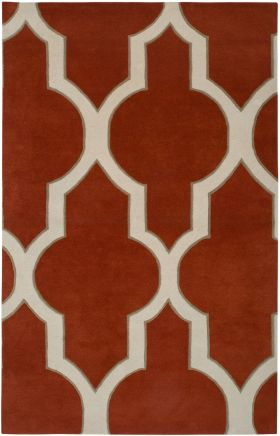 Transitional Rugs Volare Orange 12488