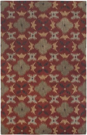 Transitional Rugs Volare Orange 12501