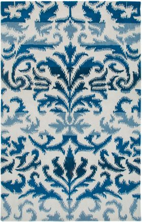 Traditional Rugs Volare White 12505