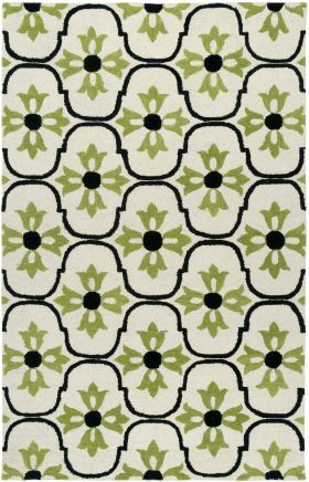 Transitional Rugs Vicki Payne White 12524
