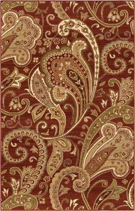 Traditional Orian Rugs Anthology Burgundy 12578