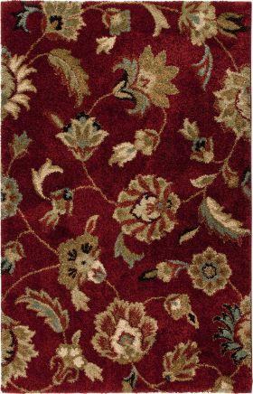 Traditional Orian Rugs Wild Weave Burgundy 12607