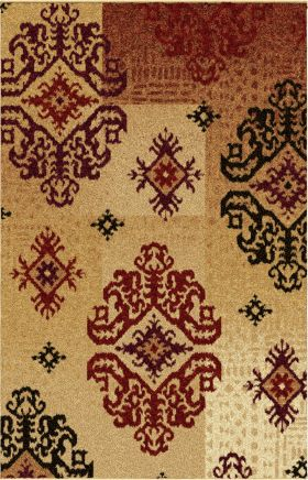 Traditional Orian Rugs Wild Weave Gold 12621