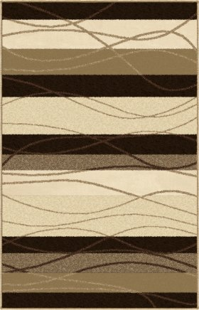 Contemporary Orian Rugs Four Seasons Cream 12635