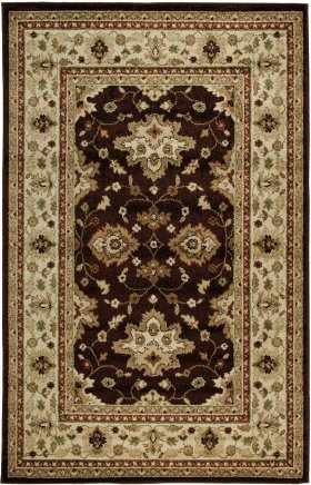 Oriental Orian Rugs Four Seasons Brown 12641