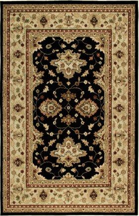Oriental Orian Rugs Four Seasons Black 12642