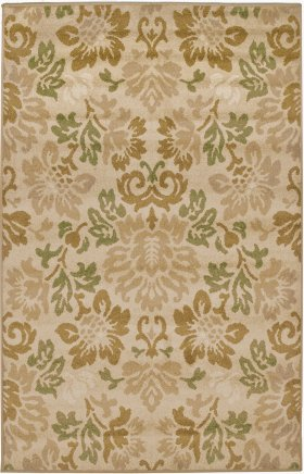 Transitional Orian Rugs Four Seasons Gold 12645