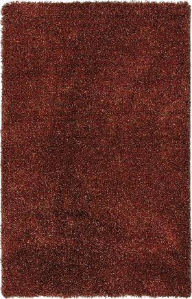 Shag Orian Rugs Tribeca Burgundy 12660