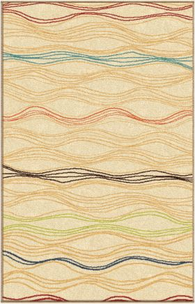Transitional Orian Rugs Veranda Beige 12714