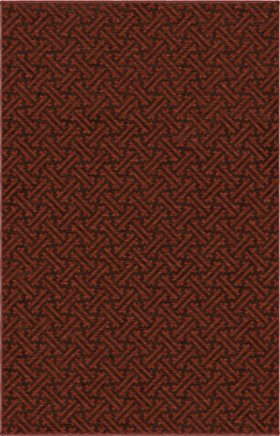 Transitional Orian Rugs Simplicity Burgundy 12740