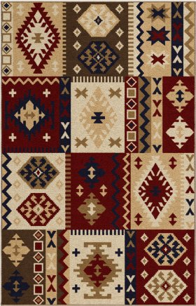 Transitional Orian Rugs Oxford Multicolor 12754