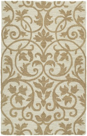 Transitional Kaleen Rugs Carriage Brown 12800