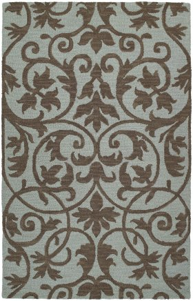 Transitional Kaleen Rugs Carriage Blue 12801